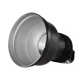 19.5cm Metal Zoom Reflector Lampshade for Profoto Photography Flash Light Speedlite