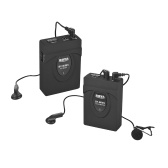 BOYA BY-WM5 Wireless Microphone System with Transmitter Receiver Lapel Mic Earphones for Canon Nikon Sony DSLR Camcorder Audio Recorder