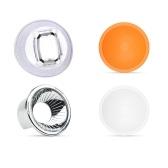 Universal Lambancy Dome Flash Diffuser with Orange White Silver Domes for Canon 420EX 430EX 550EX 580EX 600EX for Nikon SB600 SB700 SB800 SB900 SB910 for Sony HVL-F43AM