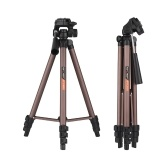 K&F CONCEPT 49-Inch Travel Camera Tripod Lightweight & Compact Aluminum Alloy Folding Tripod Stand