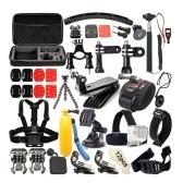 Комплект принадлежностей для монтажа экшн-камеры 36 в 1
