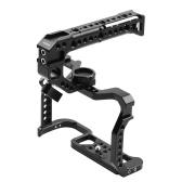 Andoer Aluminum Alloy Camera Cage + Top Handle Kit