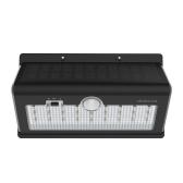 dodocool solarbetriebene 520LM Ultra Bright 26 LED Wireless Security-Wand-Licht mit Bewegungs-und Licht-Sensor-Auto On / Off wasserdichten Outdoor-Gebrauch 6500K Schwarz