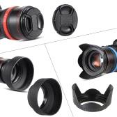Andoer 49mm Kit de Lentes UV + CPL FLD + + ND (ND2 ND4 ND8) con Carry Cap bolsa / tapa del objetivo / soporte Lens / Tulipán, caucho Limpieza y protección / paño de limpieza