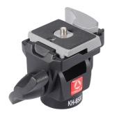 Портативные камеры KINGJOY KH-6500 мяч алюминиевого сплава монопод шарнирного соединения Tilt головка для Canon Nikon Sony Макс нагрузка 2,5 кг