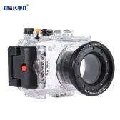 Meikon SY-6 40m / 130ft Camera Case étanche sous-marine Boîtier étanche caméra transparent pour Sony RX100 II