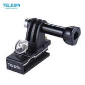 TELESIN Baseball Head Cap Hat Backpack Clip Clamp Mount Adapter Support for GoPro 4/3+/3/2 for SJCAM Xiaomi Yi Action Sports Camera Accessories