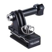 TELESIN野球ヘッドキャップ帽子バックパッククリップクランプマウントアダプタSJCAMのためのGoPro 4/3 + / 3/2のサポートXiaomi Yi Actionスポーツカメラアクセサリー