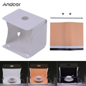 Andoer Q1A Faltbare Mini USB Softbox Lightbox Würfel Diffusion Zelt Kit