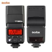 Caméra Godox TT350S Mini Portable Speedlite 2.4G sans fil Master & Slave 1 / 8000S HSS TTL flash pour Sony A77II A7RII A7R A58 A99 ILCE6000L RX10 Mirrorless ILDC