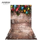 Andoer 1.5 * 0.9m / 4.9 * 3.0ft Weihnachtshintergrund Fotografie Hintergrund