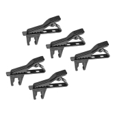 Andoer EY-J06A 5pcs 5mm Wired Risvolto Mic Clip per microfono