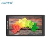 """Feelworld F570 4K 5.7 """"超薄型ポータブルカメラ視野モニター"""