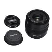 YONGNUO YN50mm F1.4 Objetivo principal estándar Objetivo automático de apertura grande para cámara Canon EOS 70D 5D2 5D3 600D DSLR
