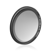 ZOMEI 62mm Ultra Slim Variable Fader ND2-400 Neutral Density ND Filter Adjustable ND2 ND4 ND8 ND16 ND32 to ND400 for Sigma Tamron Sony Alpha A57 A77 A65 DSLR Cameras