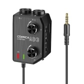 CoMica LINKFLEX AD3 Two-channels XLR/3.5mm/6.35mm-3.5mm Audio Preamp Mixer / Adapter / Interface