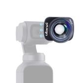 Ulanzi 4K Lente gran angular Lente de la cámara 100 ° HD Soporte magnético Compatible con DJI OSMO Accesorios de cardán de bolsillo