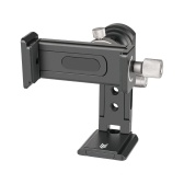 Andoer SJ-04 Phone Clip Cellphone Holder Clamp Desktop Stand Aluminum Alloy 720° Rotation