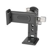 Andoer SJ-04 Clip para teléfono Soporte para teléfono móvil Abrazadera Soporte de escritorio Aleación de aluminio Rotación de 720 °
