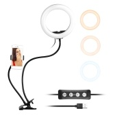 Andoer 8 pollici a due in uno LED Ring Light