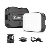VIJIM VL100C Mini Video LED Light 6W CRI95 3200K-6500K Stepless Dimmable