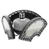 Luces de garaje LED Luces de techo LED deformables Lámpara LED CRI80 con 3 paneles ajustables