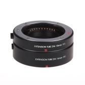 Macro AF Auto Focus Extension DG Tube 10mm 16mm Set Ring Metal Mount for M4/3 Mount Olympus E-P1 E-P2 E-PL1 E-PL2 Panasonic G1GF1
