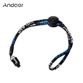 Andoer Camera Neck Wrist Strap with 1/4 Screw Nut Kit for Ricoh Theta S & M15 for LG 360 Cam for Samsung Gear 360 Camera Camcorder