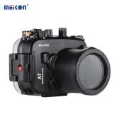 Meikon SY-14 40m / 130ft Camera Case Underwater Camera Boîtier étanche noir étanche pour Sony A7 A7R