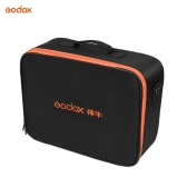 Godox Studio Flash Strobe Padded Hard Carrying Storage Bag Case Black for Godox AD600/AD360 Series Flash and Other Brand Outdoor Flash Accessory