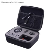 Portable Protective Carrying Case Water Resistant EVA Camera Storage Bag for Nikon KeyMission 360 Action Camera