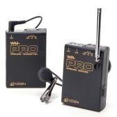AZDEN WLX-Pro / 1プロフェッショナルVHFワイヤレスラペルマイクシステムスタンダードネットワークアンカーDSLR ILDCカメラビデオ録画ニュースインタビューティーチングシステムトレーニング190P 150P 250P 390Pパナソニック用700P 330P 180P for BMCC BMPC