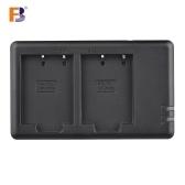 FB Podwójna ładowarka USB dla NP-W126 Bateria dla Fujifilm FinePix HS50EXR X-T20 X-T10 X100F X-H1 X-A5 X-A1 X-A1 X-E1 X-E2 X-M1 X-Pro2 Kamera X-Pro1