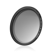 ZOMEI 67mm Ultra Slim Fader Variable ND2-400 Neutral Density ND Filter Ajustable ND2 ND4 ND8 ND16 ND32 a ND400 para Canon 7D 700D 600D 70D 60D 650D 550D para Nikon D7100 D80 D90 D7000 D5200 D3200 D5100 D3200 D5300 DSLR Cámaras
