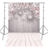 Andoer 1.5 * 2.1m/5 * 7ft High Quality Christmas Style Photography Background