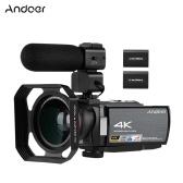 Andoer HDV-AE8 4K WiFi Cámara de video digital Videocámara Grabadora DV