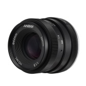 Andoer 50mm F1.8 Digital Camera Lens Large Aperture APS-C Frame Multilayer Film Coating Mirrorless Camera Lens