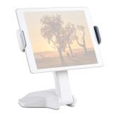 Desktop Smartphone Tablet Stand Bracket 15.7cm-26cm Adjustable Width 360° Rotation