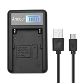 Andoer F550 Ladegerät Micro-USB-Ladeanschluss