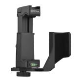 BOYA BY-PSC1-OP Plate-forme vidéo pour smartphone avec support de téléphone Pince pour appareil photo Double remplacement de support de chaussure froide pour iPhone OSMO Pocket Vlog Enregistrement vidéo en direct