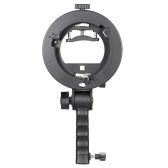 En forme de S poche Grip Portable Bowens Flash support pour lampe de poche Softbox Support parapluie réfléchissant et autres accessoires de Studio de photographie