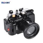 MEIKON SY-16 40m / 130 ft Underwater Camera Wodoodporna Obudowa Czarny Wodoodporny futerał na aparat Sony RX100 IV