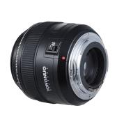 YONGNUO YN85mm f1.8 AF/MF Standard Medium Telephoto Prime Lens Fixed Focal Lens for Canon EF Mount EOS 7DII  5DII 5DIII 5DS 5DSR 1D Mark I/II/III/IV 1DS Mark I/II/III 1DX 6D 80D 70D 760D 700D 650D Cameras