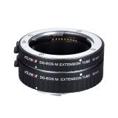 キヤノンEF-Mマウントシリーズミラーレスカメラとレンズ用Viltrox DG-EOS M自動延長チューブ10ミリメートルと16ミリメートルオートフォーカス