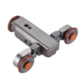 Andoer L4 Autodolly 3-Wheel Pulley Car Slider Rolling Skater