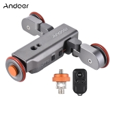 Andoer L4 Auto dolly Electric Motorized 3-Wheel Pulley Car