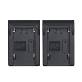 Andoer 2 sztuk NP-FZ100 Bateria Płyta dla Neweer Andoer Dual / Czterokanałowa Ładowarka do Sony A7III A9 A7RIII A7SIII