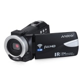 Andoer 1080P FHD 24M WiFi Digital Video Camera Camcorder Recorder D