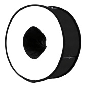45cm Ring Softbox Speedlight Round Flash Light Shoot Foldable Soft Flash Light Diffuser