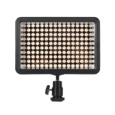 Professional Dimmable Ultra High Power LED de luz de vídeo 5600K Fotografia Fill Light 160 LEDs Beads CRI 95+ com filtros de cor para Canon Nikon Sony Pentax Olympus DSLR Camera Camcorder